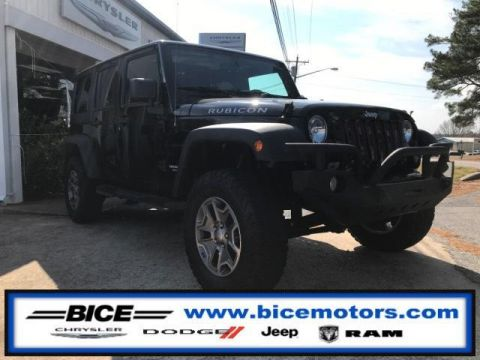 Pre-Owned 2016 Jeep Wrangler Unlimited 4WD 4dr Rubicon