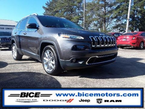 Pre-Owned 2015 Jeep Cherokee FWD 4dr Limited